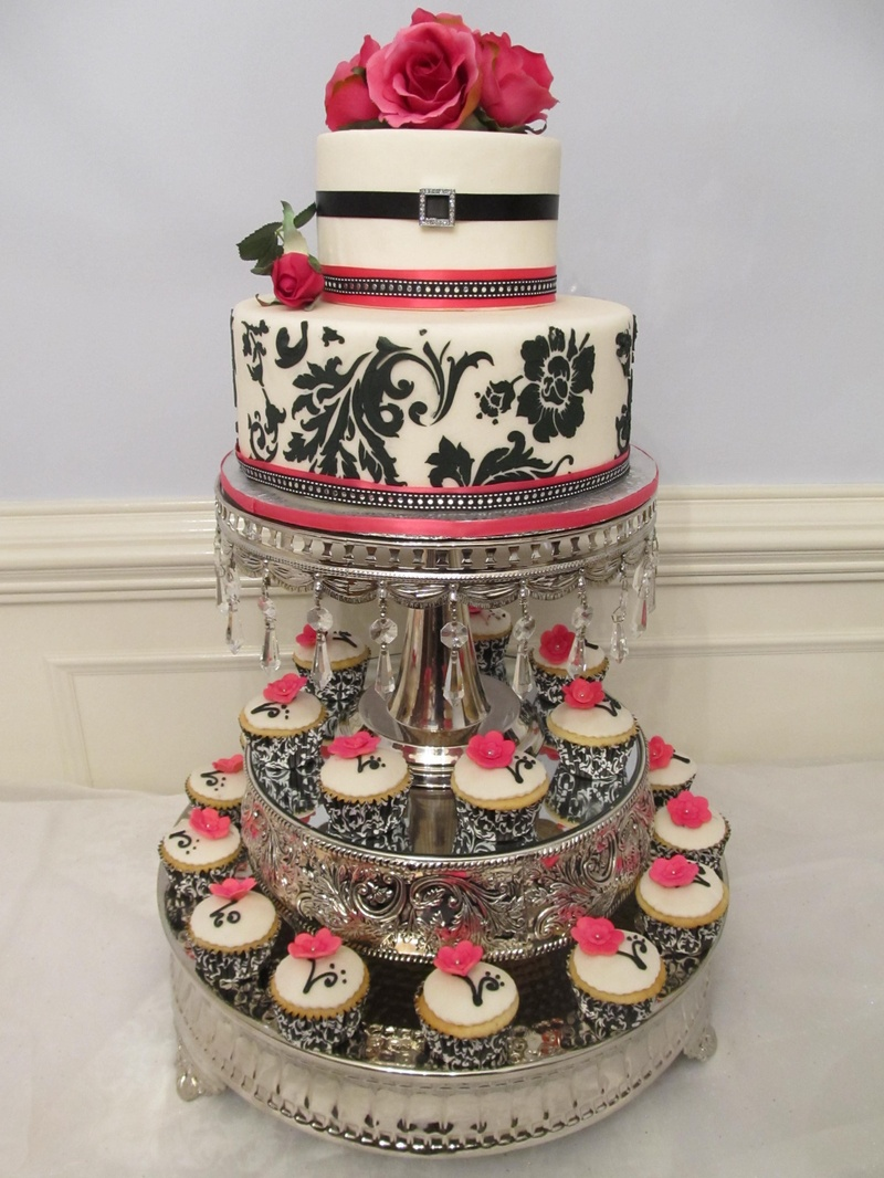 Elegant Design With Cup Cakes Donna S Baking Creations