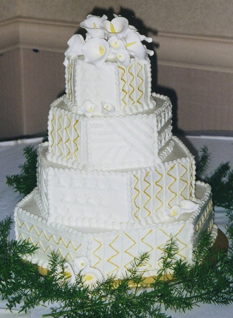 Hexagon Wedding Cake Donna S Baking Creations