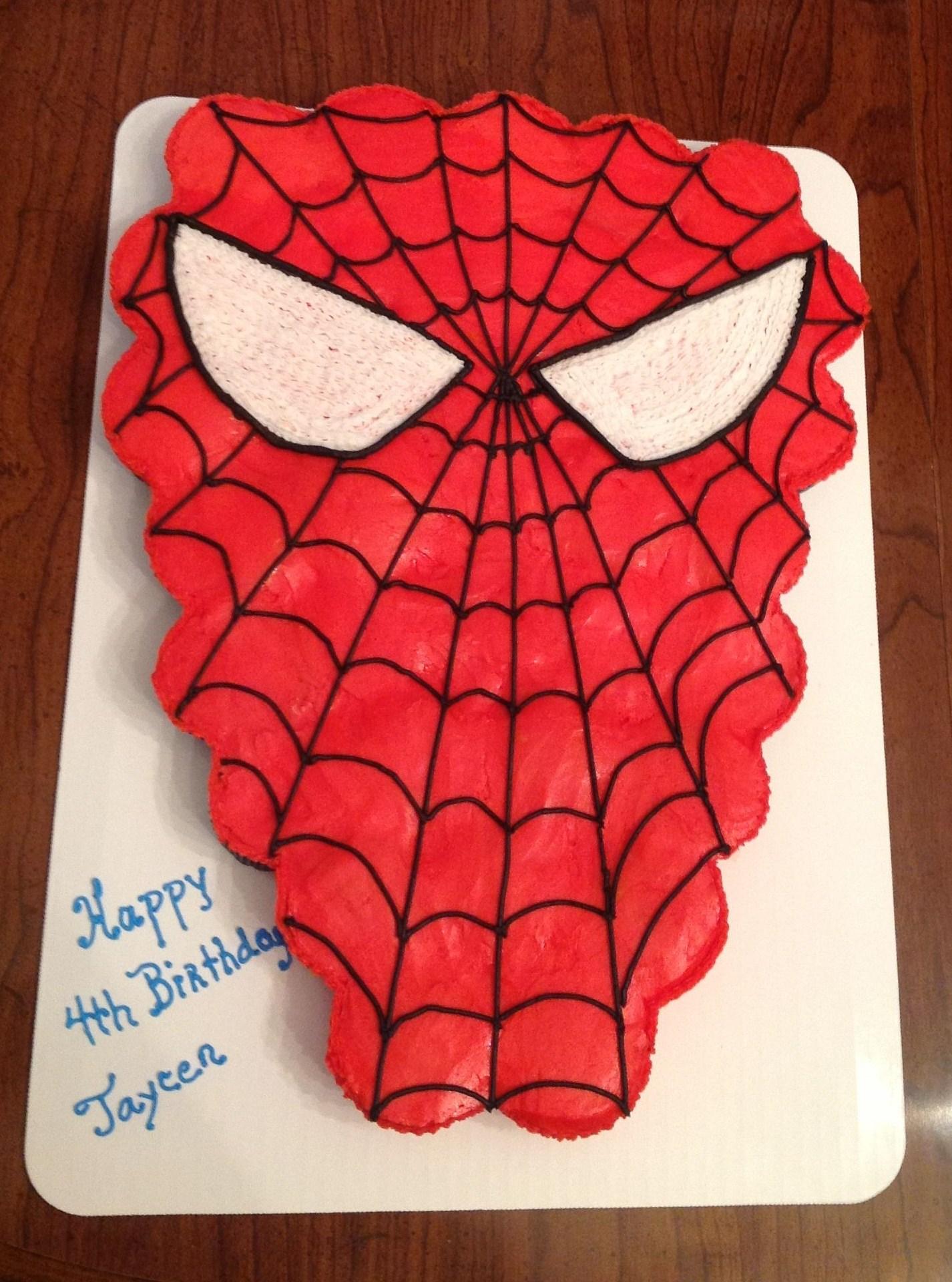 Spiderman cupcake cake walmart - photo#18